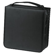 Hama CD/DVD/Blu-ray Wallet 304, black + cleaning cloth