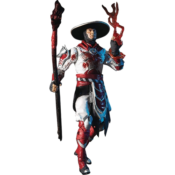 Mortal Kombat 4 Action Figure Raiden Bloody 18 cm