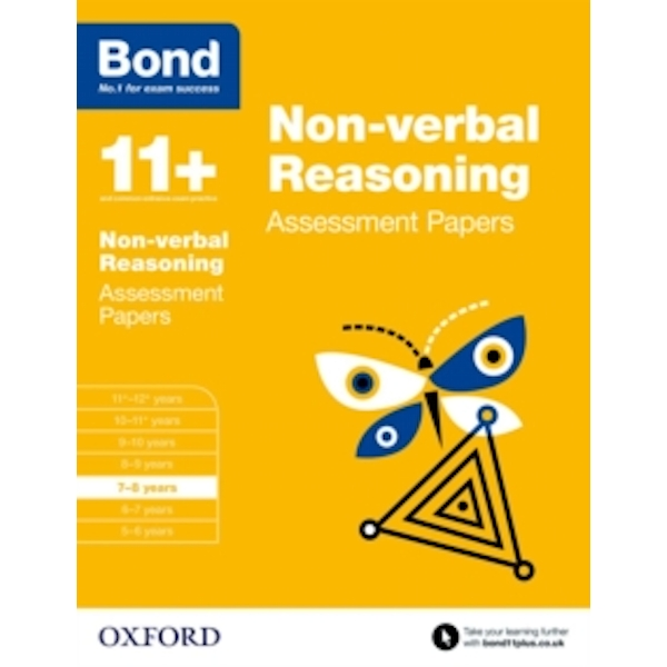 Bond 11+: Non-verbal Reasoning: Assessment Papers : 7-8 years