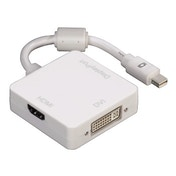 Hama 3in1 Mini DisplayPort Adapter for DVI, Displayport or HDMI™