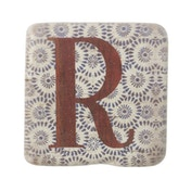 Letter R Coasters By Heaven Sends