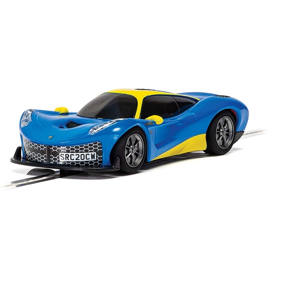 Metallic Blue Scalextric Rasio C20 Car