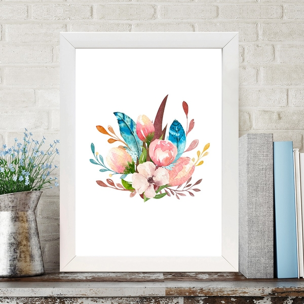 BC1035563785 Multicolor Decorative Framed MDF Painting