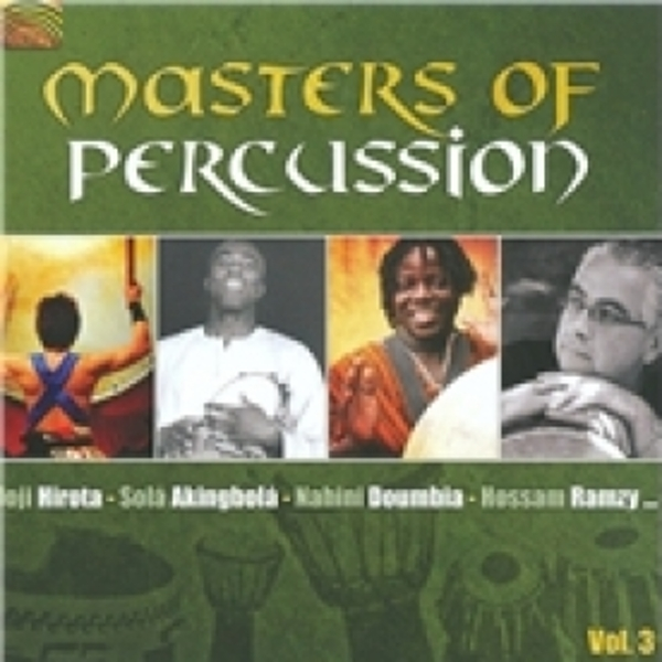 Masters Of Percussion Vol.3 CD