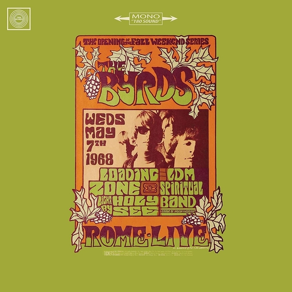 The Byrds - Live in Rome 1968 Vinyl