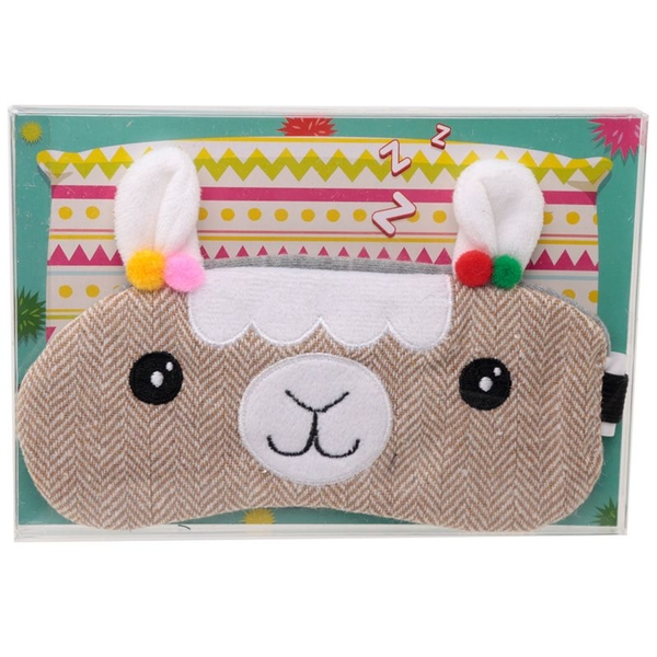 Llamapalooz Fun Eye Mask Design
