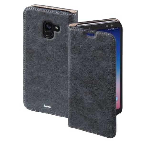 "Hama ""Guard Case"" Booklet for Samsung Galaxy A8 (2018), blue"