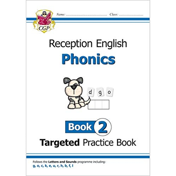 English Targeted Practice Book: Phonics - Reception Book 2  Paperback / softback 2018
