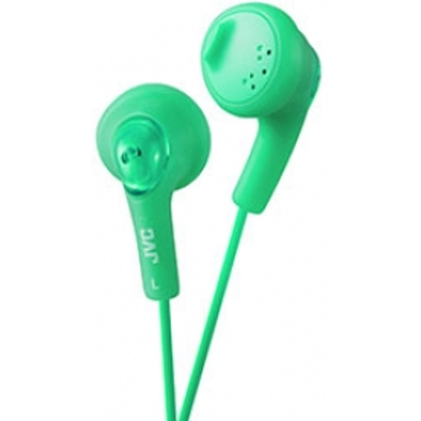 JVC Gumy Bass Boost Stereo Headphones Pistachio Green
