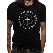 30 Seconds To Mars - Monolith Logo Men's Small T-Shirt - Black