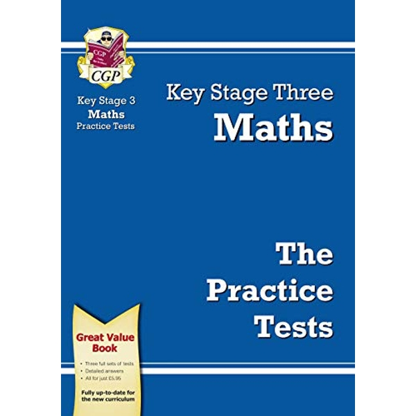 KS3 Maths Practice Tests by CGP Books (Paperback, 2009)