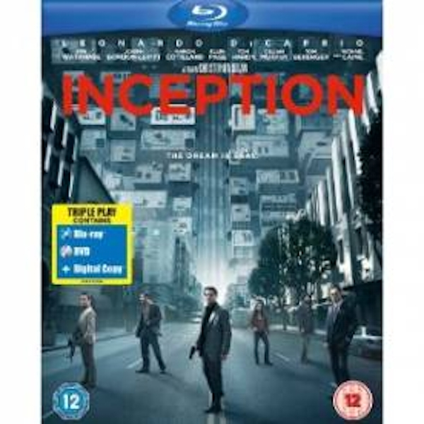 Inception Triple Play Blu-ray + DVD + Digital Copy