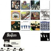 The Beatles Coasters in a Tin set of 13