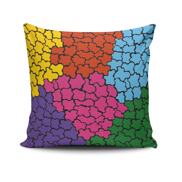 NKLF-290 Multicolor Cushion Cover
