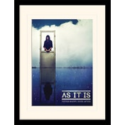 As It Is - Never Happy Ever After Deluxe Mounted & Framed 30 x 40cm Print