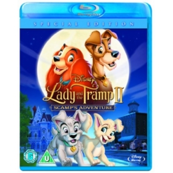 Lady And The Tramp 2 Blu-ray