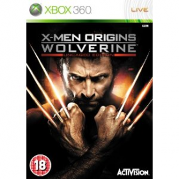 X-Men Origins Wolverine Game Xbox 360