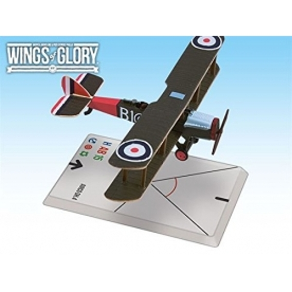 Wings of Glory Airco DH.4 Bartlett/Naylor Board Game