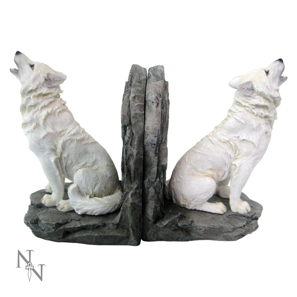 Wardens of the North Wolf Bookends