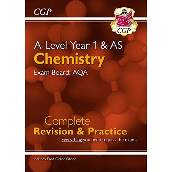 New A-Level Chemistry: AQA Year 1 & AS Complete Revision & Practice with Online Edition  Paperback / softback 2018