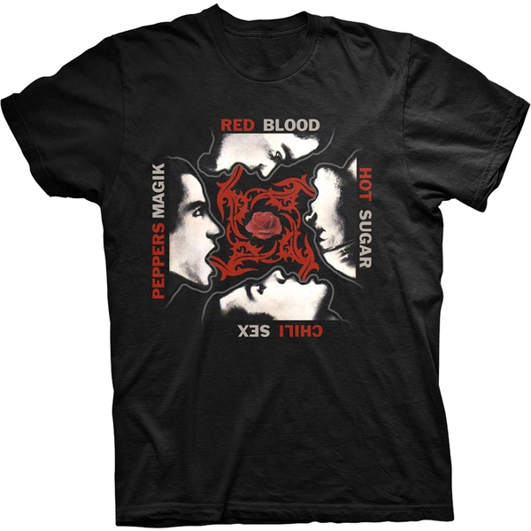 Red Hot Chili Peppers - Blood/Sugar/Sex/Magic Unisex Large T-Shirt - Black