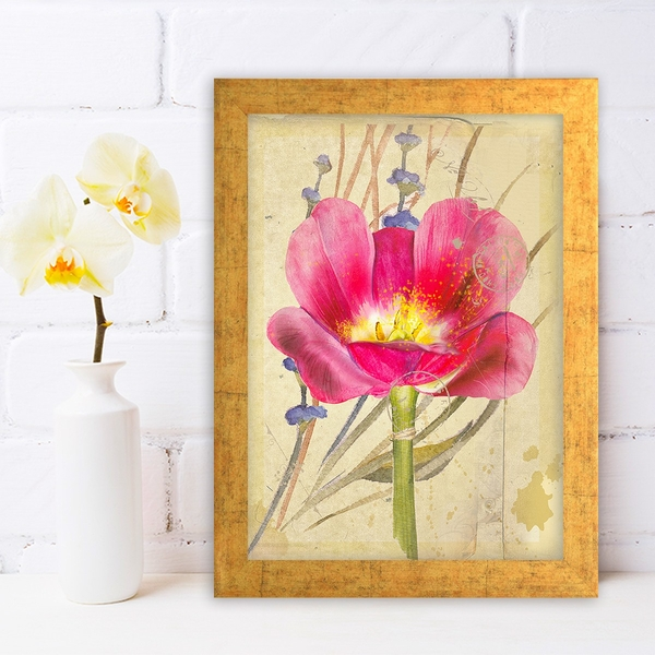 AC1153099694 Multicolor Decorative Framed MDF Painting
