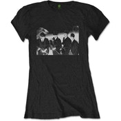 The Beatles - Smiles Photo Women's Large T-Shirt - Black