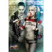 Suicide Squad Joker & Harley Quinn Maxi Poster