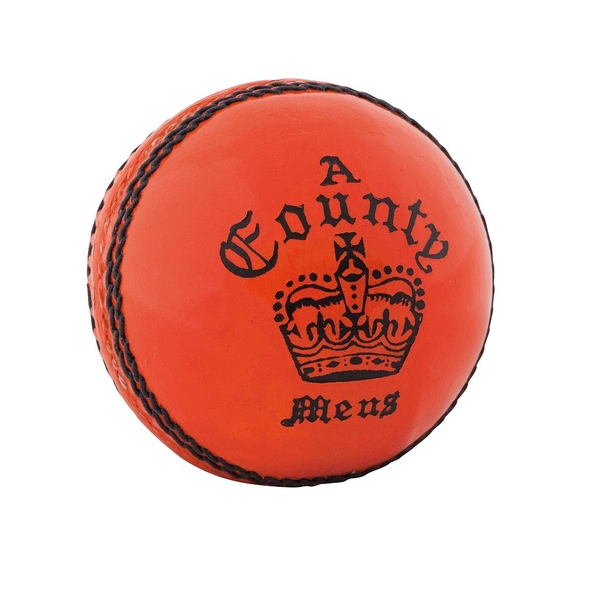 Readers County Crown Cricket Ball Orange - Mens