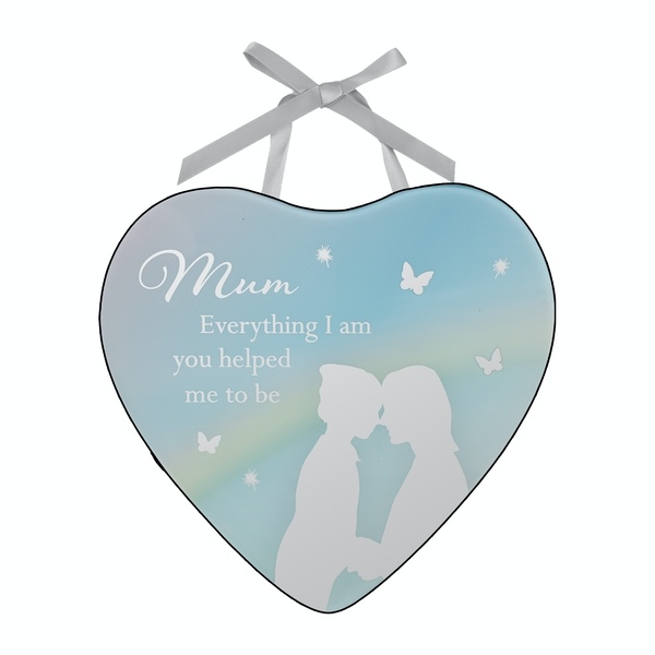 Reflections of The Heart Plaque - Mum