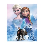 Frozen Collage Mini Poster