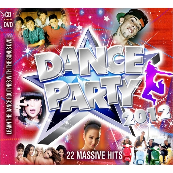 Various Artists - Dance Party 2012 CD/DVD