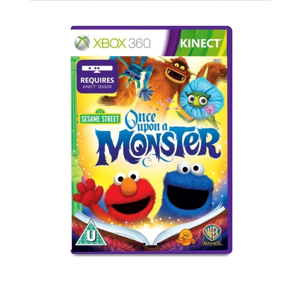 Kinect Sesame Street Once Upon A Monster Game Xbox 360