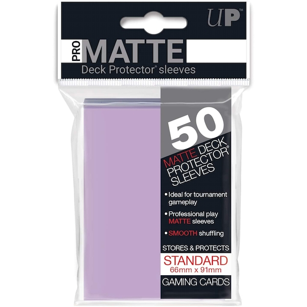 Ultra Pro Standard Deck Protectors (50 Sleeves) - Lilac