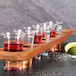 Wooden Drinks Paddle with 6 Shot Glasses | M&W - Image 4