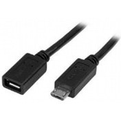 StarTech Micro-USB Extension Cable - M/F - 0.5m (20in)