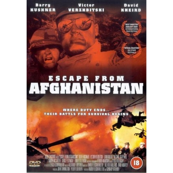 Escape from Afghanistan DVD