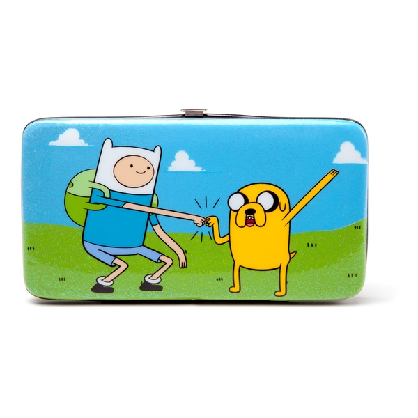 Adventure Time - Finn And Jake All-Over Print Unisex Hinge Purse Wallet - Multi-Colour
