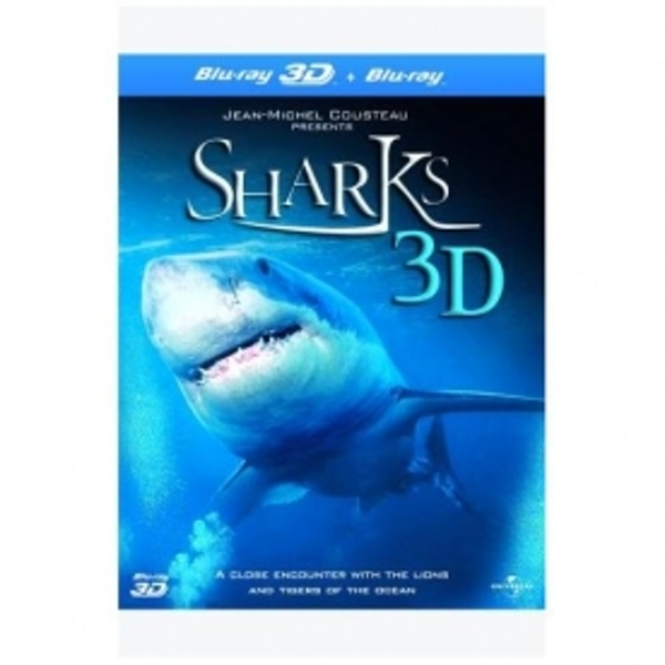 Sharks Blu-ray 3D and Blu-ray