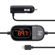 Belkin In Car Tunecast Auto Live FM Transmitter Charge and Play