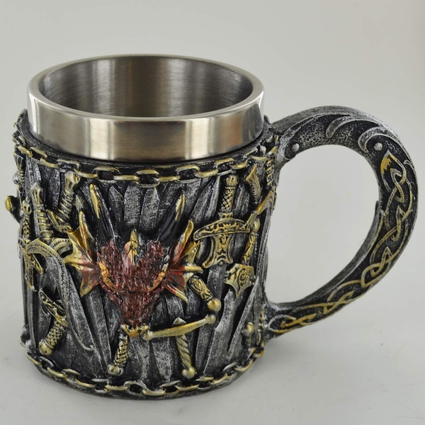 Sword & Dragon Tankard