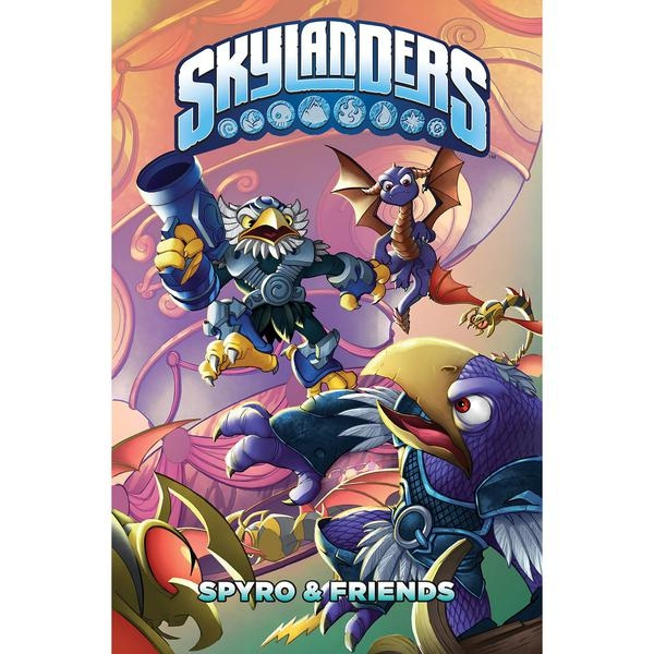 Skylanders  Spyro & Friends Hardcover