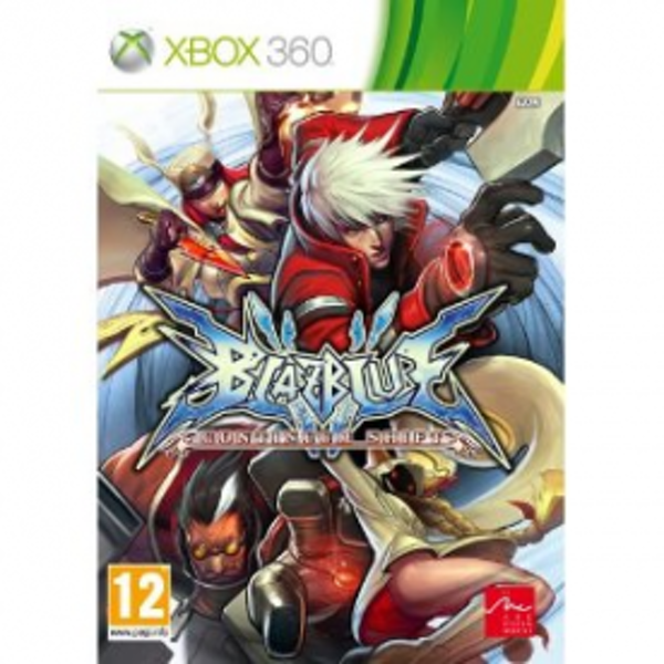 BlazBlue Continuum Shift Game Xbox 360