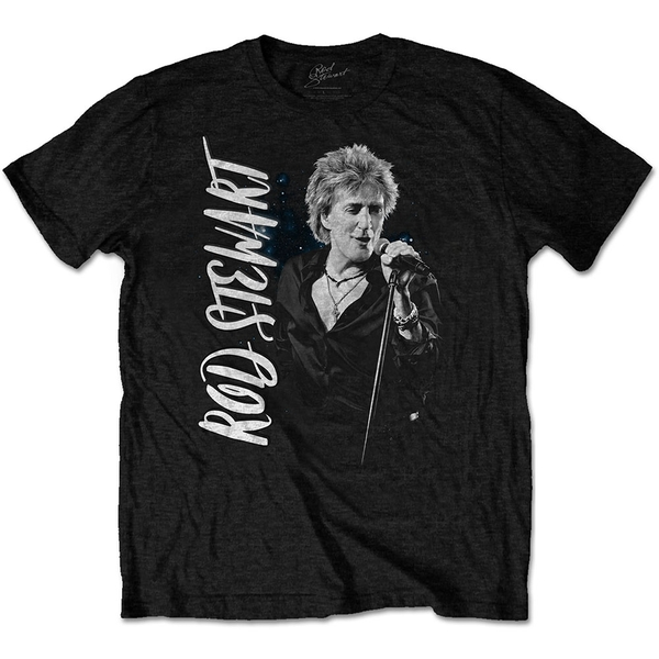 Rod Stewart - ADMAT Men's Medium T-Shirt - Black