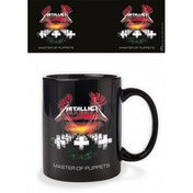 Metallica - Master Of Puppets- Black Mug