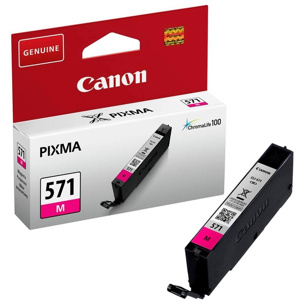 Canon 0387C001 (571 M) Ink cartridge magenta, 297 pages, 7ml