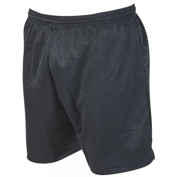 Precision Micro-stripe Football Shorts 26-28 inch Black