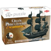 The Queen Anne's Revenge 155 Piece 3D Jigsaw Puzzle