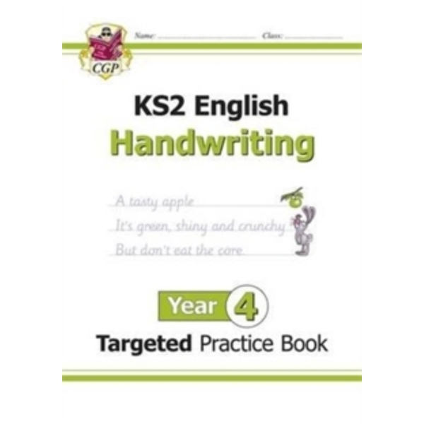New KS2 English Targeted Practice Book: Handwriting - Year 4 by CGP Books (Paperback, 2016)