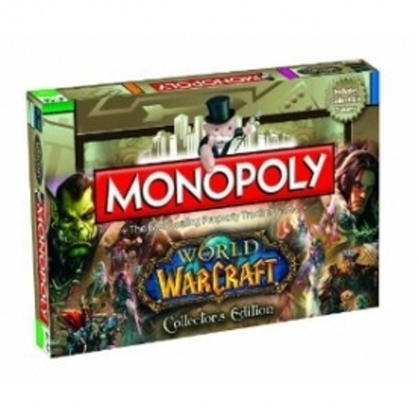 Ex-Display Monopoly World of Warcraft Board Game Used - Like New
